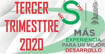 TERCER TRIMESTRE 2020